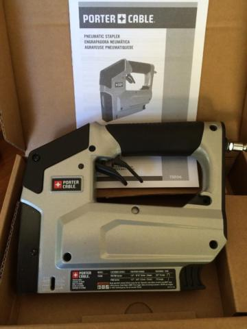 Porter-Cable Pneumatic 38 in. Crown Stapler Brand new in the box