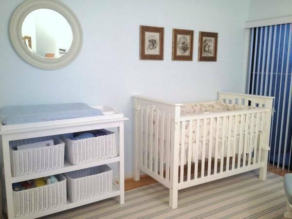 Pottery Barn Changing Table Fully Loaded For Sale In