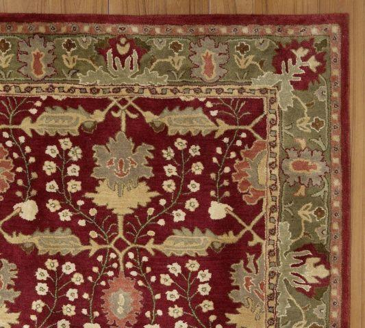 Pottery Barn Franklin Persian Style Rug -- 100 Wool