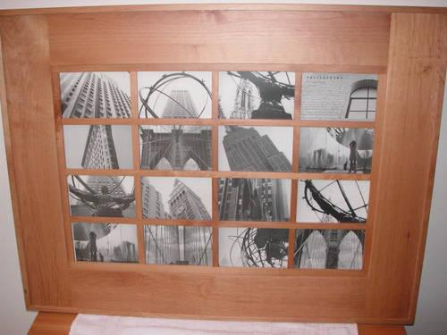 Pottery Barn Honey Color Wood Collage Picture Frames, 2 ...