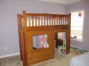 pottery barn loft bed playhouse hampstead nc for sale in wilmington north carolina. Black Bedroom Furniture Sets. Home Design Ideas