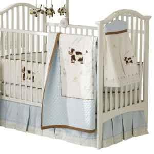 Pottery Barn Moo Cow Crib Bedding Decor Richmondrosenberg For