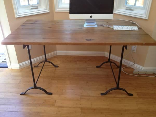pottery barn real wooden table for sale for sale in redwood city california classified. Black Bedroom Furniture Sets. Home Design Ideas