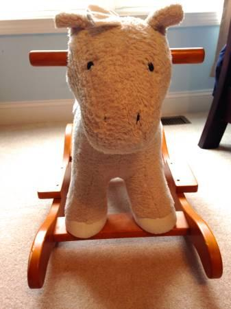 Pottery Barn Rocking Horse For Sale In Durham North