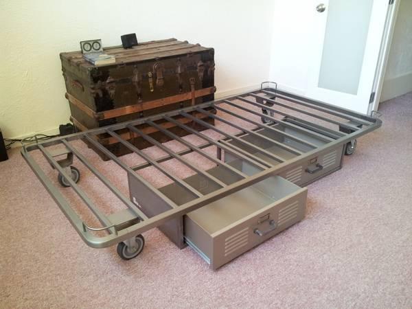 Pottery Barn Twin Locker Bed Storage For In Menlo Park California
