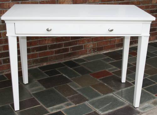 Pottery Barn White Craft Table Desk For Sale In East