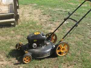 poulan 550 lawn mower manual