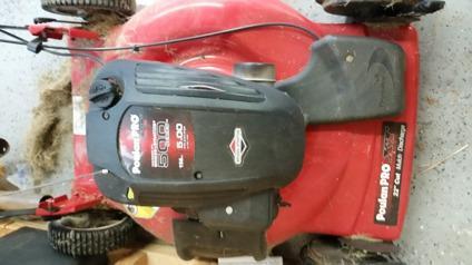 Pouloan Pro 22 deck Self Propelled Mower