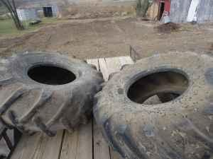 Power Grip Tractor Tires 23.1 x 26 BF Goodrich 90%