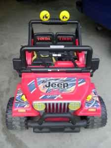 power wheels jeep - $175 (thomasville nc)