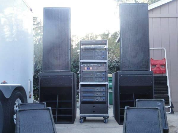 !!!Powerful 9000Watt PA and 3000Watt Monitors - $4500