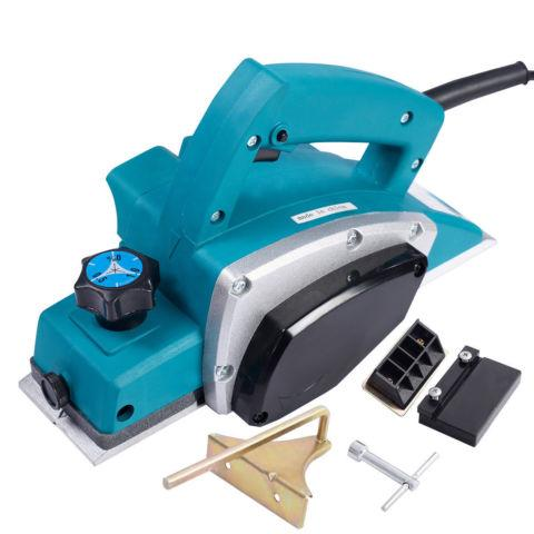 Powerful Electric Wood Planer Hand Held Woodworking