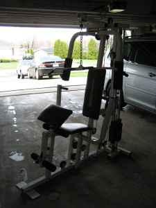 Powerhouse Power booster home gym 200lbs of