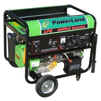 Powerland 6,500-Watt LPG Propane Generator, 16 HP with Electric Start
