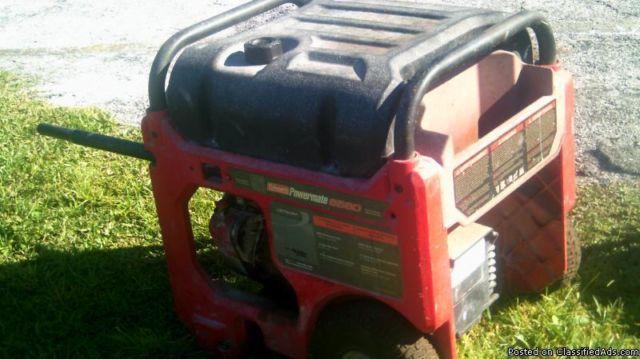 powermate coleman 6560 portable generator