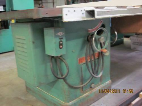 Powermatic Commercial 12 table saw wBiesmeyer