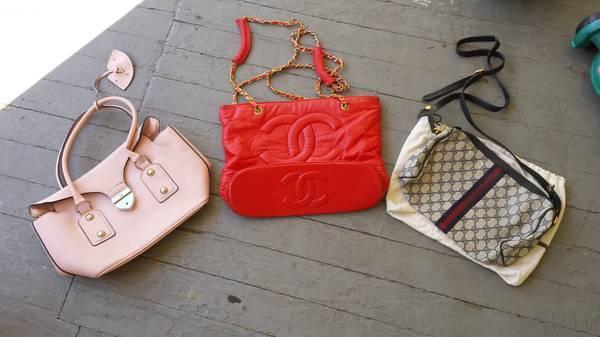 Prada Chanel Gucci purses - $30