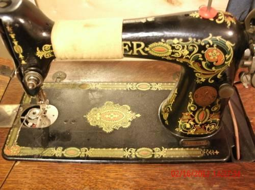 Art And Antiques For Sale In Grayling Michigan Classifieds Buy And Inspiration Red Eye Singer Sewing Machine