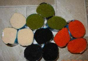 Pre-cut rug yarn - $8 SW 40th  West A