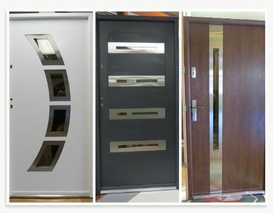 Pre Hung High End Quality Metal Pvc Front Entry Doors For Sale In