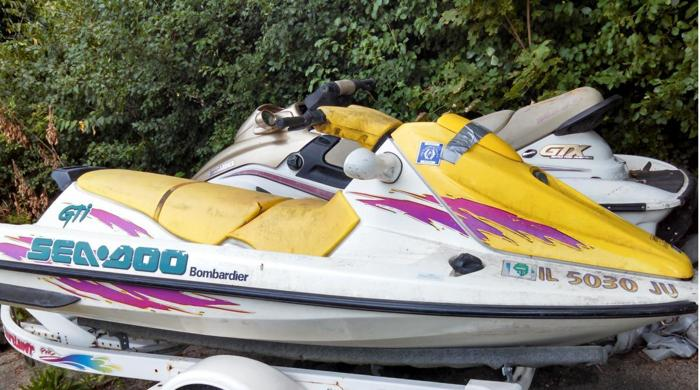 Pre-Owned 1996 Sea-Doo GTI in Yellow ONLY $499 at Jim Potts Motor Group in  Woodstock