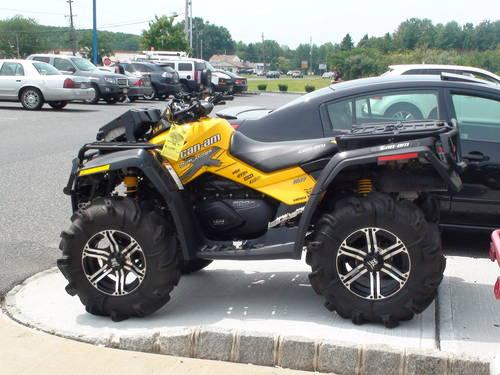 pre owned 2011 can am outlander 800r efi x mr atv for sale in perrineville new jersey. Black Bedroom Furniture Sets. Home Design Ideas