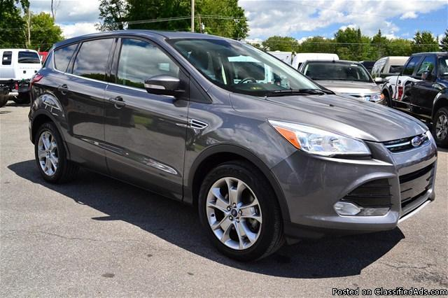 pre owned 2013 ford escape 39 sel 39 ecoboost 4wd rhinebeck for sale in rhinebeck new york. Black Bedroom Furniture Sets. Home Design Ideas