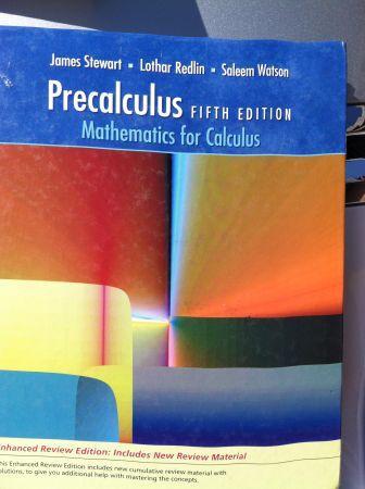 Precalculus - $50 (North Bakersfield)