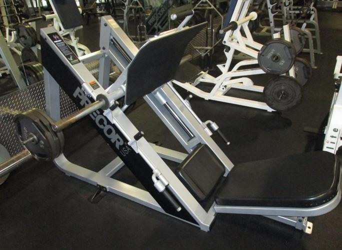 Leg Press For Sale >> Precor Angled Leg Press