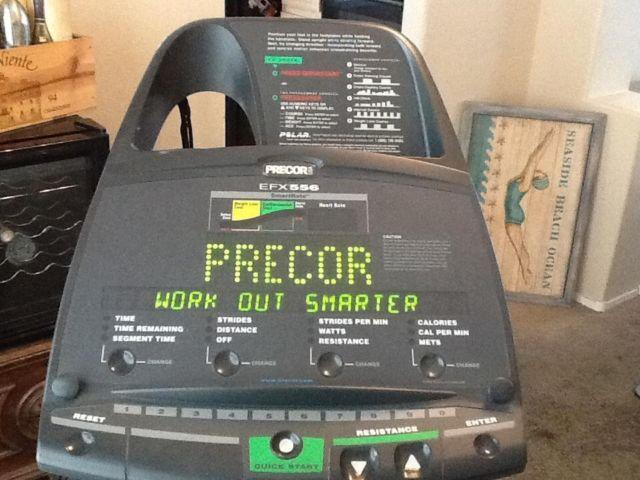 Precor Elliptical efx 556