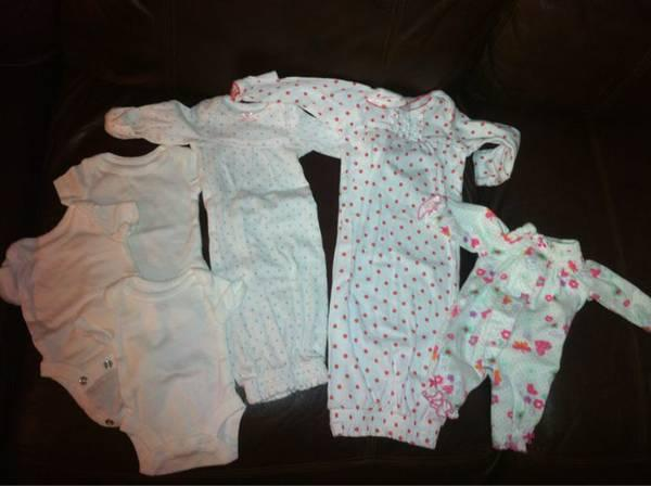 Preemie Newborn And 0 3 Months Baby Clothes For Girls Blankets