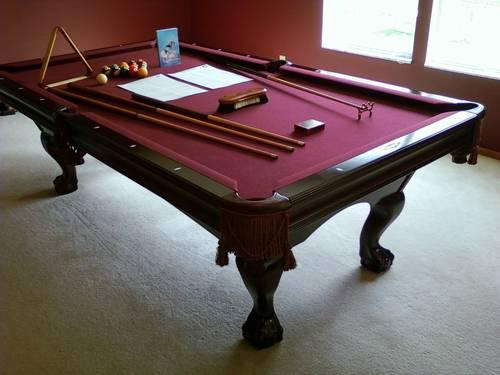 Premium Authentic Brunswick Bradford II 8Ft Cherry Pool