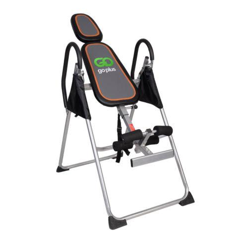 Premium Gravity Inversion Table Back Therapy Reflexology