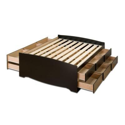 ... To Build Queen Platform Bed With Drawers, Feb... - Amazing Wood Plans