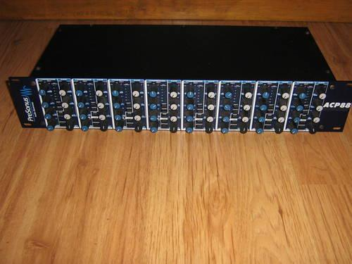 PreSonus ACP88 8-Channel compressor/limiter/gate