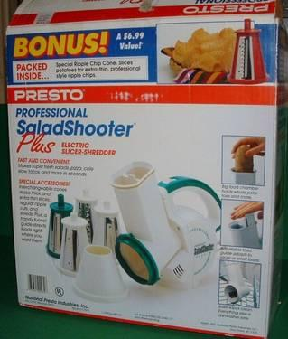 PRESTO Professional Food Slicer  Shredder  Ice Shaver