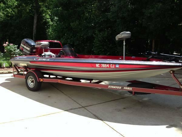 Price Drop 1995 Stratos 201 Pro Xl Bass Boat Great