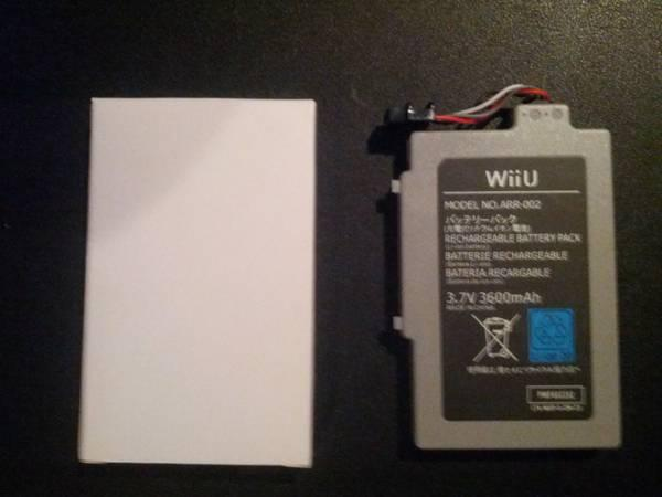 Price Drop Extended Life Battery For Nintendo Wii U