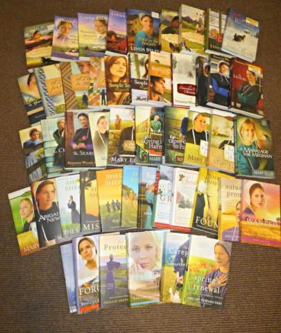 PRICE REDUCED: Huge Collection of Amish Books