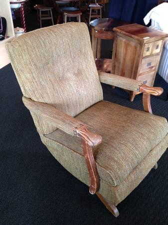 Price Reduced  Vintage Platform Rocker - $59