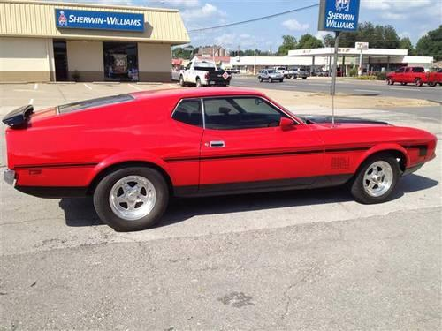 priced to sell 1972 ford mustang mach1 351 for sale in muscle shoals alabama classified. Black Bedroom Furniture Sets. Home Design Ideas