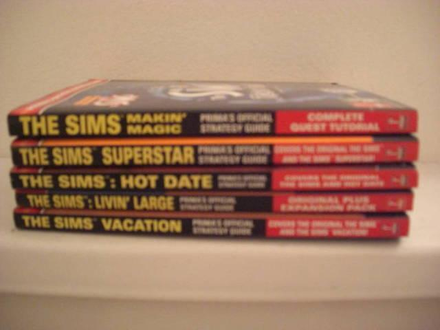 Prima's Official Sims Strategy Guide Pack - 5 Titles!!!