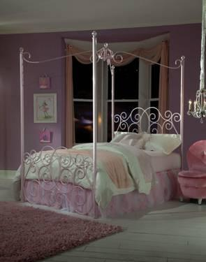 princess canopy bed for sale twin or full size for sale in jeffersonville pennsylvania. Black Bedroom Furniture Sets. Home Design Ideas