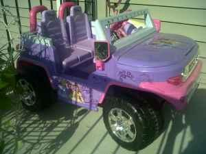 Princess Jeep - $85 (Macon )