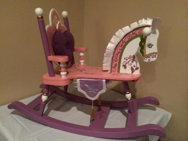 Princess Rocking Horse Rocker Child Size Levels of
