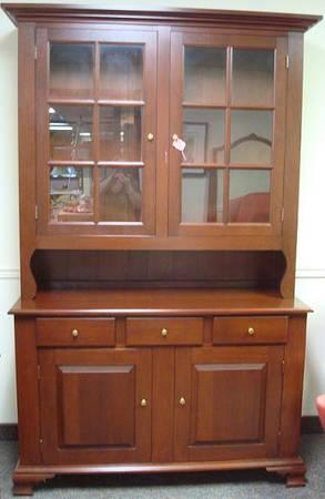 Cherry Wood China Cabinet Clifieds Across The Usa Americanlisted