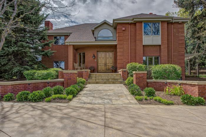 Private Custom Two-Story Brick Home