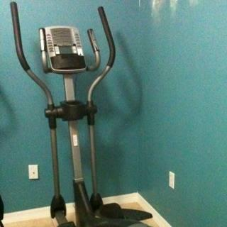 Used Elliptical For Sale >> Pro Form 950 Elliptical Space Saver Barely Used For Sale In West