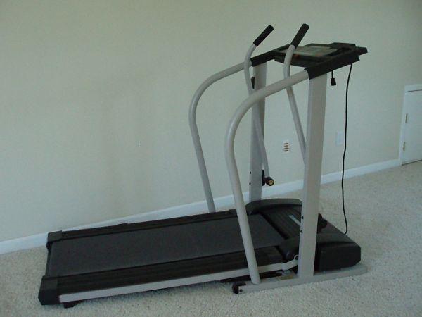 treadmill height