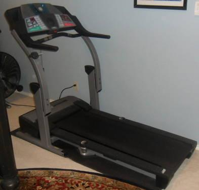 Used Elliptical For Sale >> Pro Form treadmill, fold-up, shock absorber platform - for Sale in Dallas, Texas Classified ...